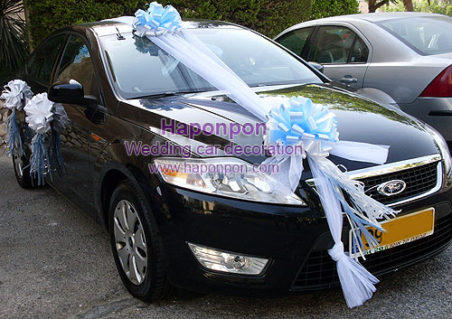 wedding car decoration | car decoration | car decorating | קישוטי ...